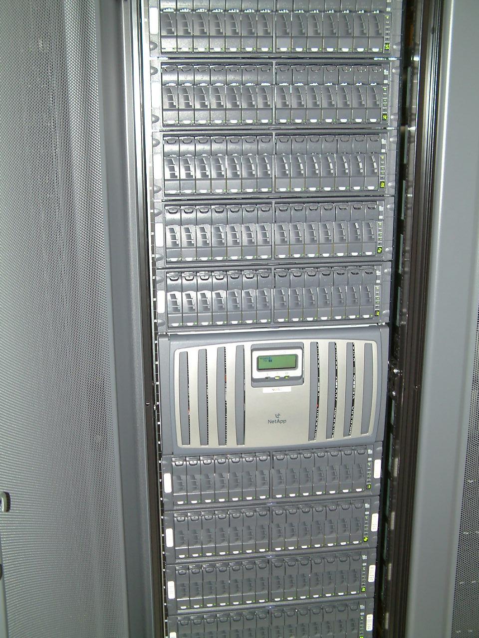 SAN storage za novi server