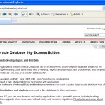 Download Oracle XE Database